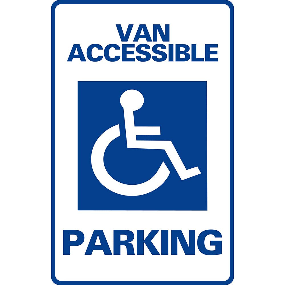 Van Accessible Parking SG-102H