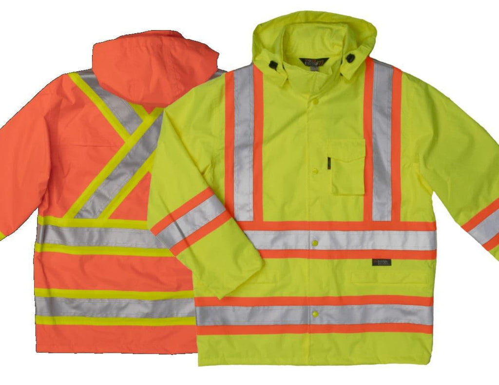 Manteau Imperméable Work King Safety by Tough Duck