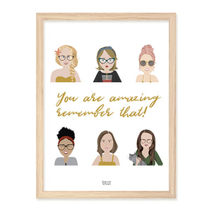You are Amazing Poster