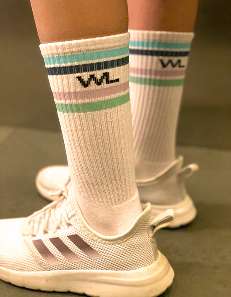 Striped Tube Socks