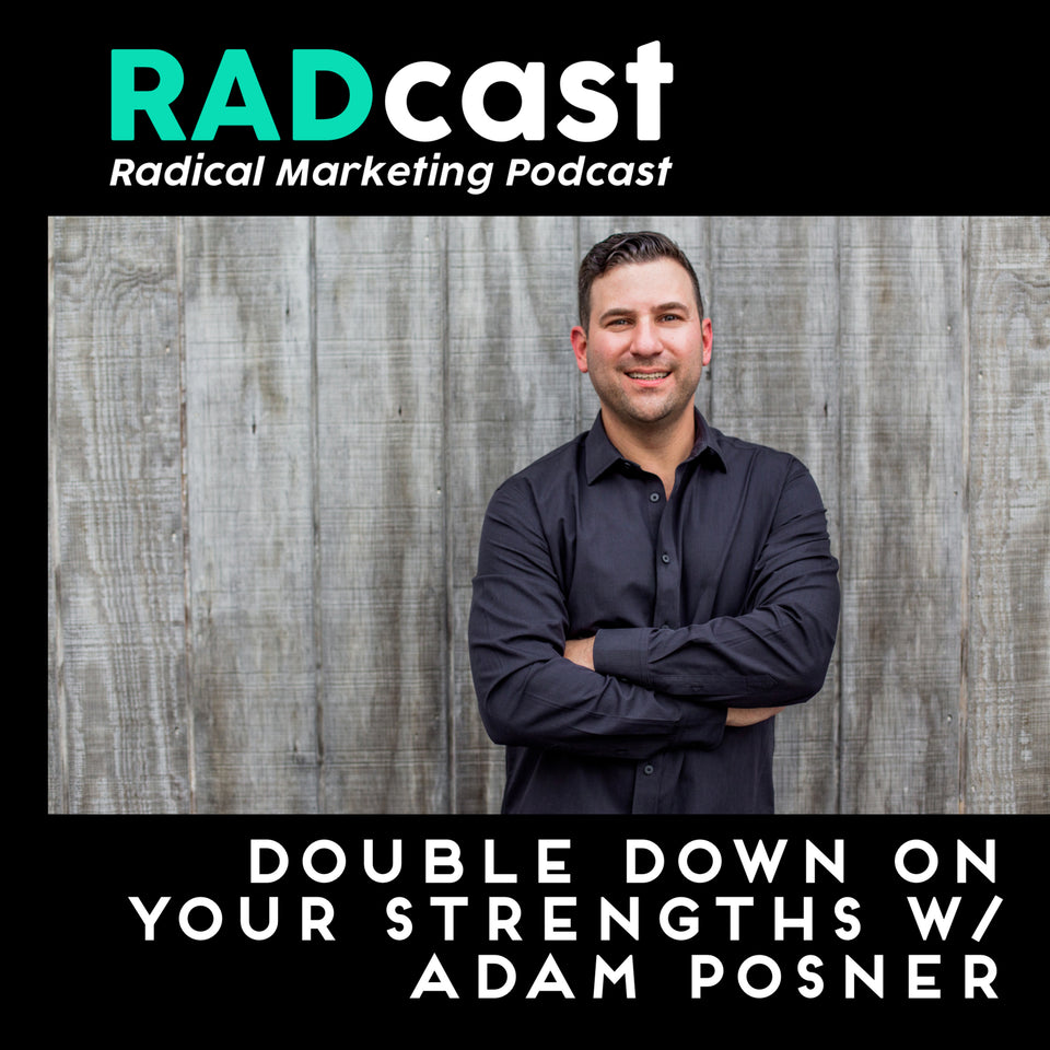 DOUBLE DOWN ON YOUR STRENGTHS - RYAN TALKS WITH ADAM POSNER ABOUT TIME WORKING WITH GARY V AND BUILDING A NEW COMPANY