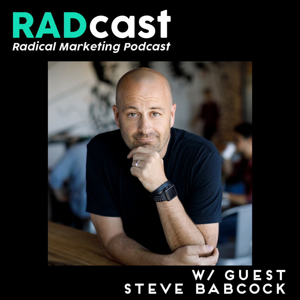 RYAN TALKS WITH GUEST STEVE BABCOCK, FORMER CHIEF CREATIVE OFFICE AT VAYNERMEDIA