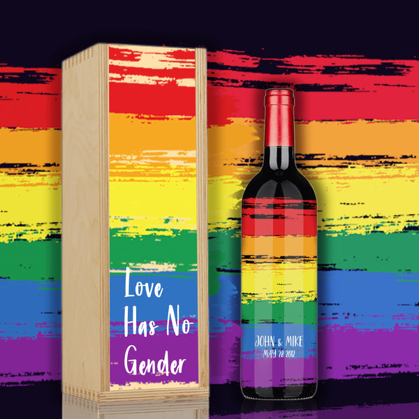LIMITED EDITION | PRIDE Wine for LGBTQ Community Wine Set - Design Your Own Wine
