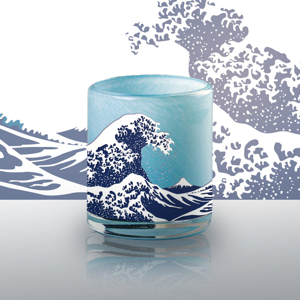 冰凍燒威士忌對杯 | Icy Wave Whisky Pair Glasses | - Design Your Own Wine