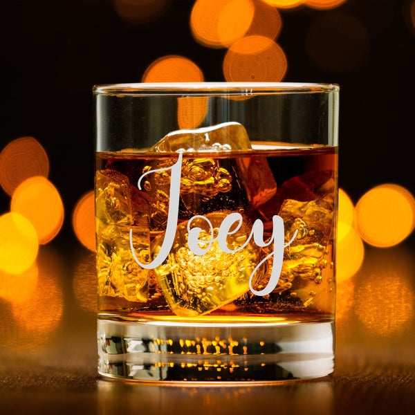 文字定制威士忌對杯 | Custom Wording Whisky Pair Glasses | Sweet - Design Your Own Wine