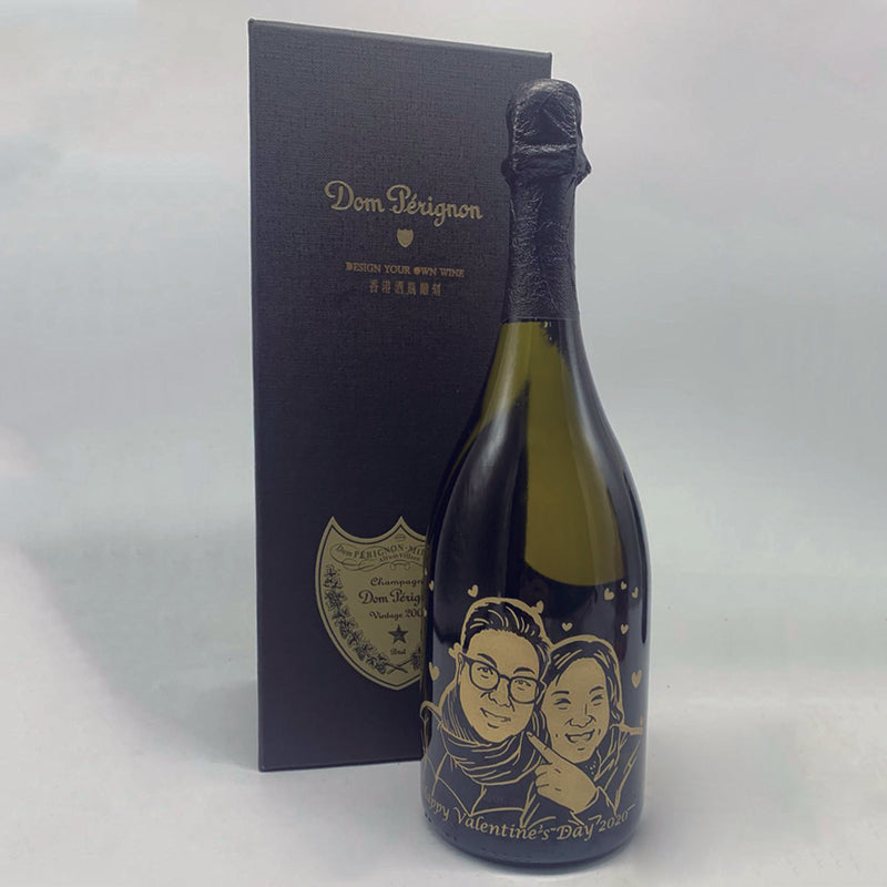 寫實人像雕刻 | Realism Style Wine Engraving - Design Your Own Wine