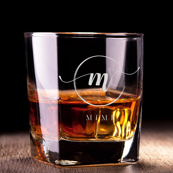 文字定制威士忌對杯 | Custom Wording Whisky Pair Glasses | Simple - Design Your Own Wine
