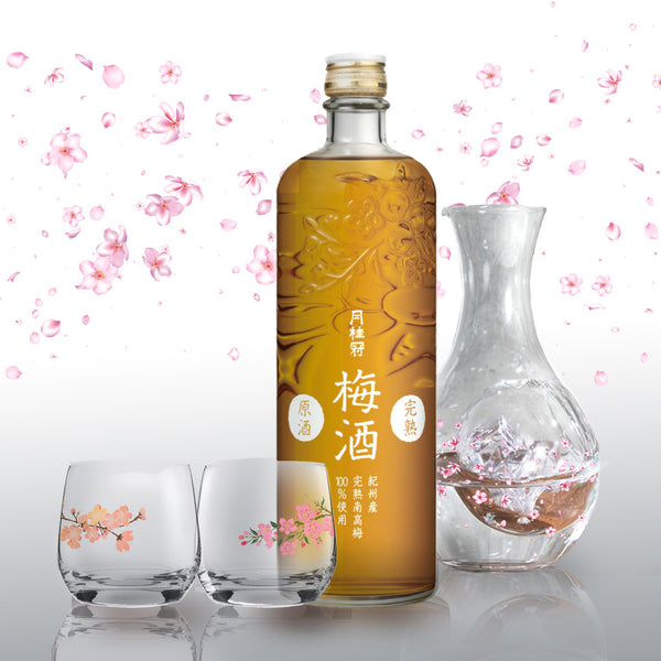 人手雕刻完熟梅酒原酒套裝 | Kanjuku Umeshu Genshu Gift Set | - Design Your Own Wine