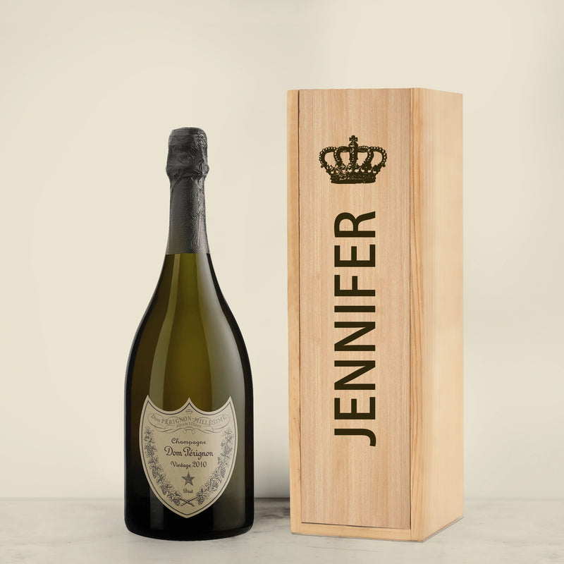 LIMITED EDITION: Christmas Gift Set | Personalize Champagne & Sparkling Wine - Design Your Own Wine