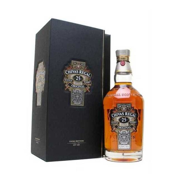 Personalize Chivas Regal 25 Years Old | 威士忌定製 - Design Your Own Wine