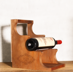 Personalize Vintage Year Wine Rack - Design Your Own Wine