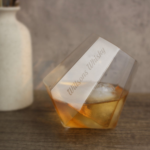 Personalize Name Whisky Lover Glass - Design Your Own Wine