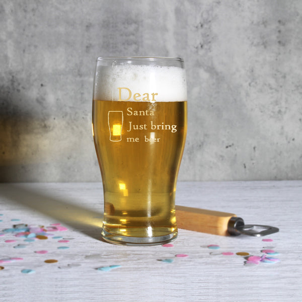 Personalize Beer Glass - Design Your Own Wine
