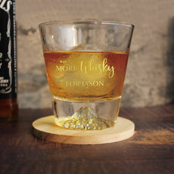Personalize Fuji Moutain Whisky Glass - Design Your Own Wine