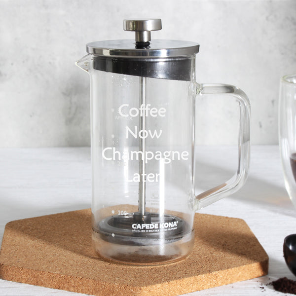 Personalize French Press - Design Your Own Wine