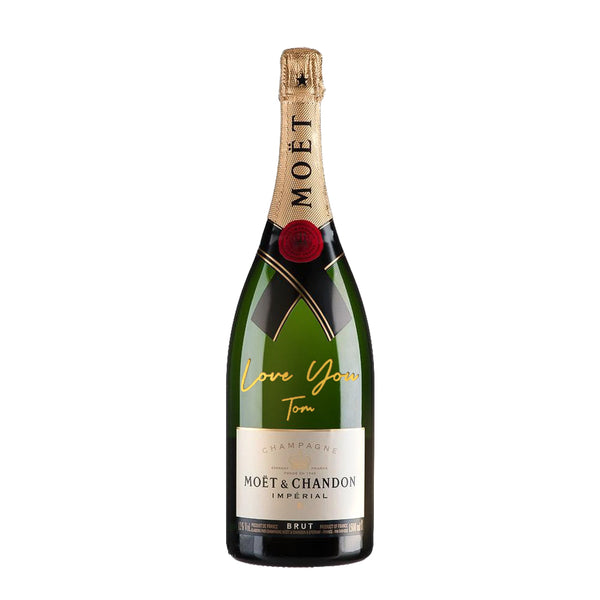 Word Engraving | Personalize Champagne & Sparkling Wine - Design Your Own Wine