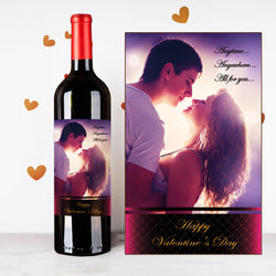 Personalize Dreamy Couples Wine  | 情侶定制酒 - Design Your Own Wine