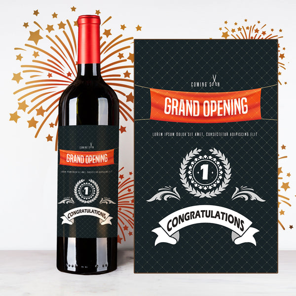 Personalize Grand Opening Wine | 開張定制酒 - Design Your Own Wine