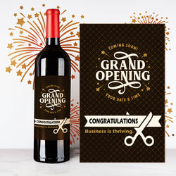 Personalize Mystery Grand Opening Wine | 開張定制酒 - Design Your Own Wine