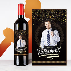 Personalize Starlet Retirement Wine | 退休定制酒 - Design Your Own Wine
