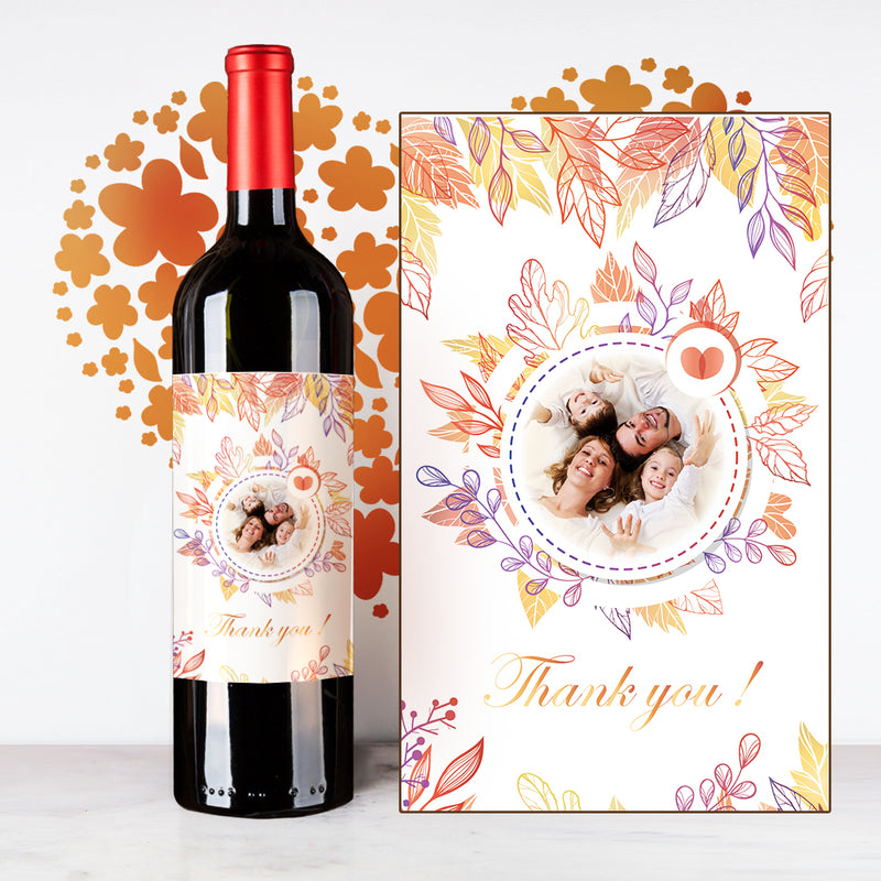 Personalize Thank You Wine | 多謝定制酒 - Design Your Own Wine