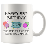 Load image into Gallery viewer, 58th Birthday Mug 2021