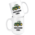 Load image into Gallery viewer, Farmer Mug, This is How I Roll