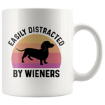 Load image into Gallery viewer, Easily Distracted By Wieners Mug