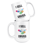 Load image into Gallery viewer, Funny Pharmacist Mug, I Sell Drugs