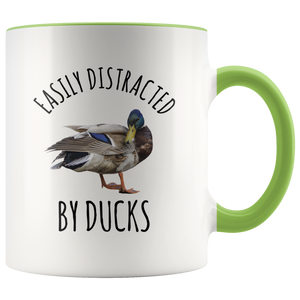 Duck Mug, Easily Distracted By Ducks