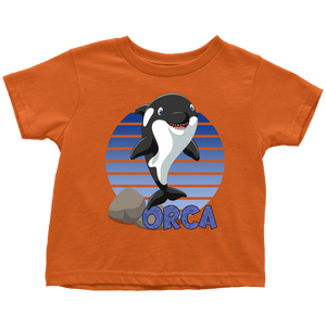 Orca Whale Shirt for Toddlers
