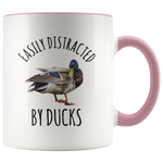 Load image into Gallery viewer, Duck Mug, Easily Distracted By Ducks