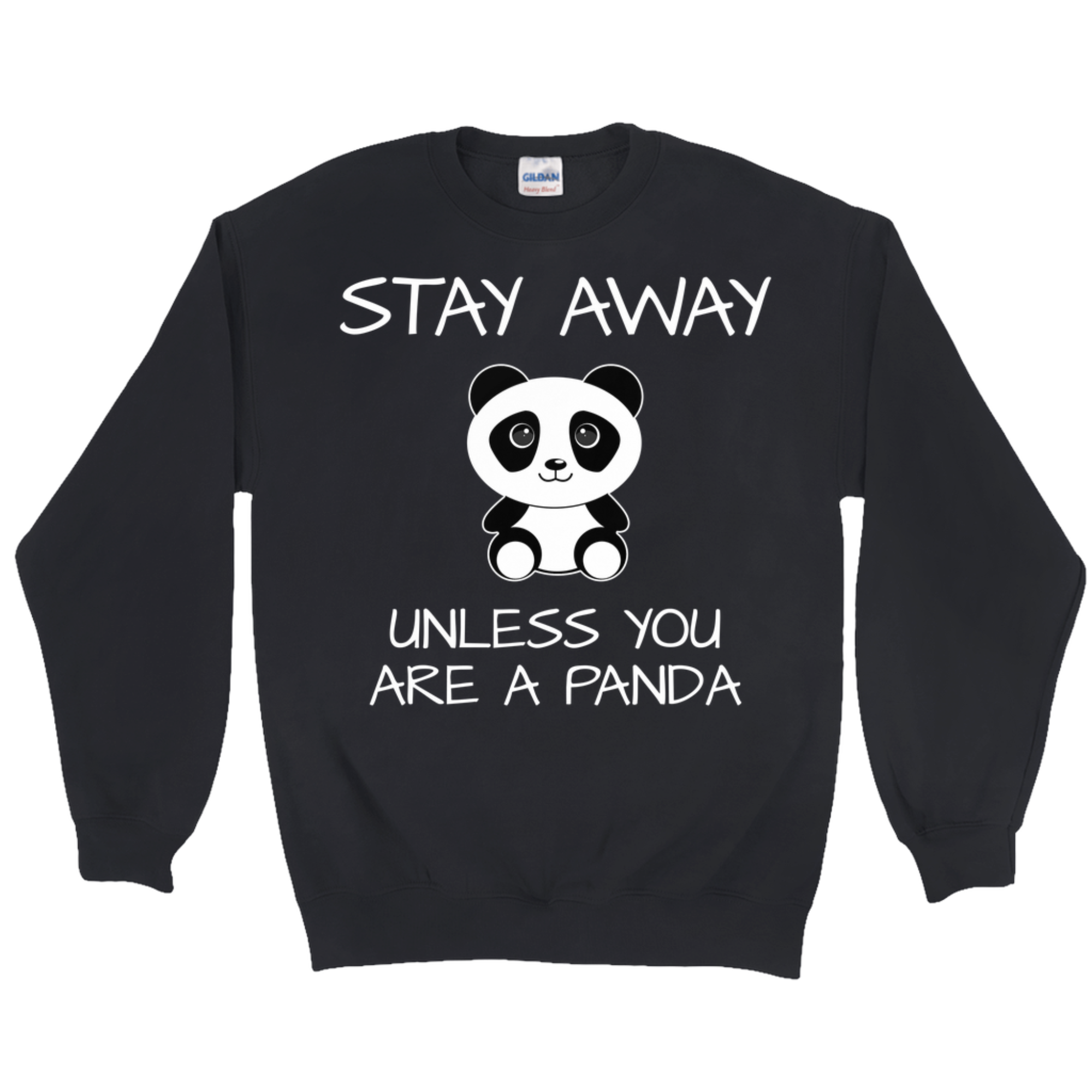 Cute Panda Crewneck Sweatshirt