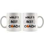 Load image into Gallery viewer, World's Best Basketball Coach Mug