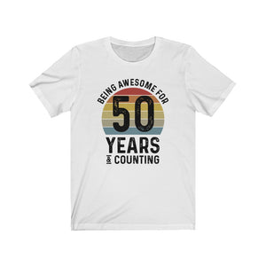 Retro 50th Birthday Shirt
