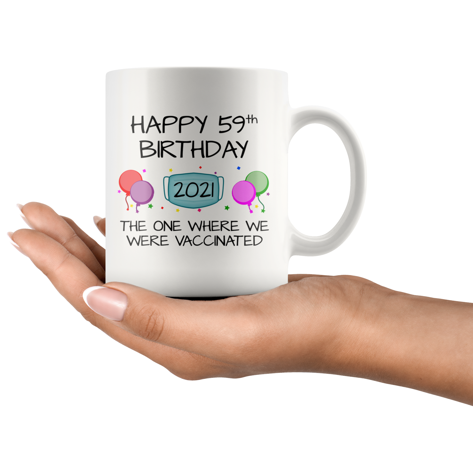 59th Birthday Mug 2021