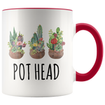 Load image into Gallery viewer, Plant Lover Mug, Pot Head