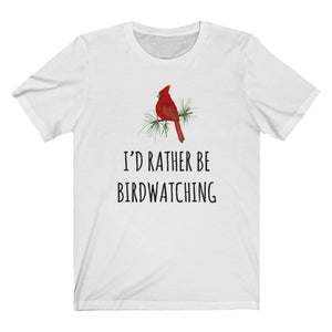 Birdwatching Shirt, I'd Rather Be Birdwatching