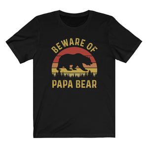 Beware of Papa Bear Shirt