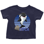 Load image into Gallery viewer, Orca Whale Shirt for Toddlers