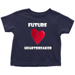 Load image into Gallery viewer, Cute Toddler Boy Shirt, Future Heartbreaker