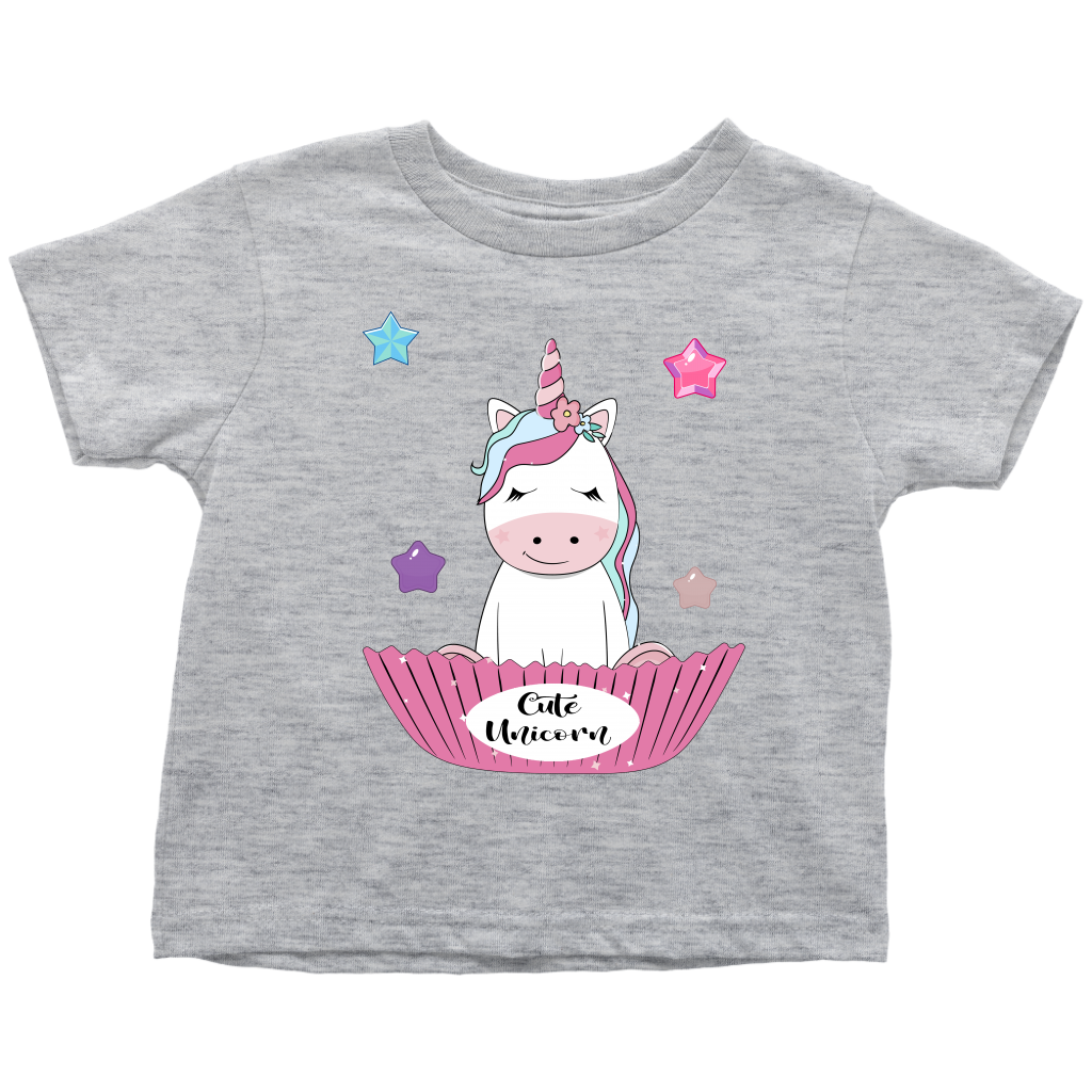 Unicorn Shirt for Toddlers