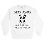Load image into Gallery viewer, Cute Panda Crewneck Sweatshirt