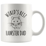 Load image into Gallery viewer, World's Best Hamster Dad Mug