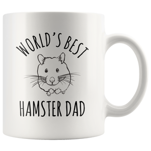 World's Best Hamster Dad Mug