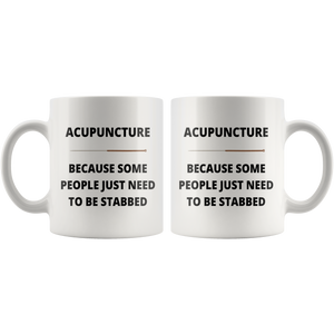 Funny Acupuncture Mug