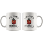 Load image into Gallery viewer, Ladybug Mug, Easily Distracted By Ladybugs