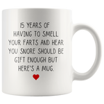 Load image into Gallery viewer, Funny 15 Year Anniversary Mug