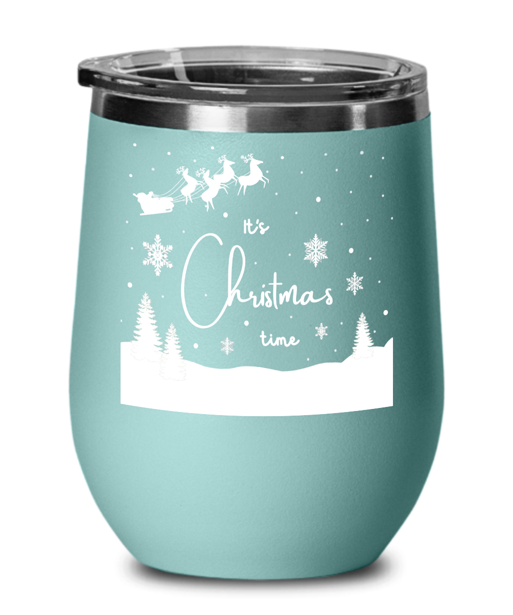 Christmas Tumbler, It's Christmas Time