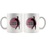Load image into Gallery viewer, Golf Mug for Women, I'd Rather Be Golfing